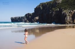 Otoño en las playas de Llanes