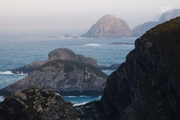 Vistas de la costa hacia el Este