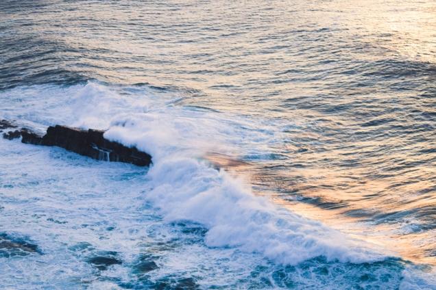 Oleaje en el Cabo Vidio