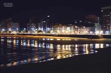 Gijón nocturno