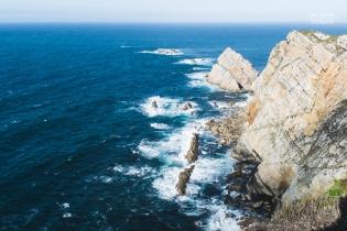 Oleaje en Cabo Peñas