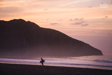 Bodyboarder en Xagó