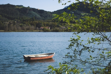 Tranquilidad en la ría de Villaviciosa