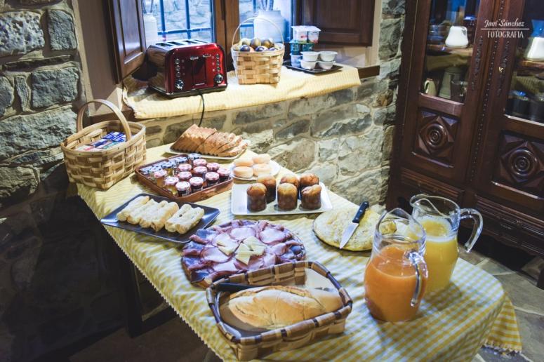 Desayuno en El Castañiu